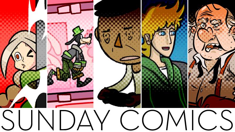 Sunday Comics: This Way, Toys!