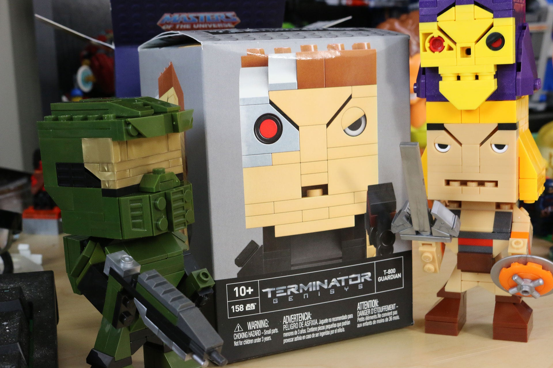 Toy Time Plays With Kubros Pop Culture Construction Figures