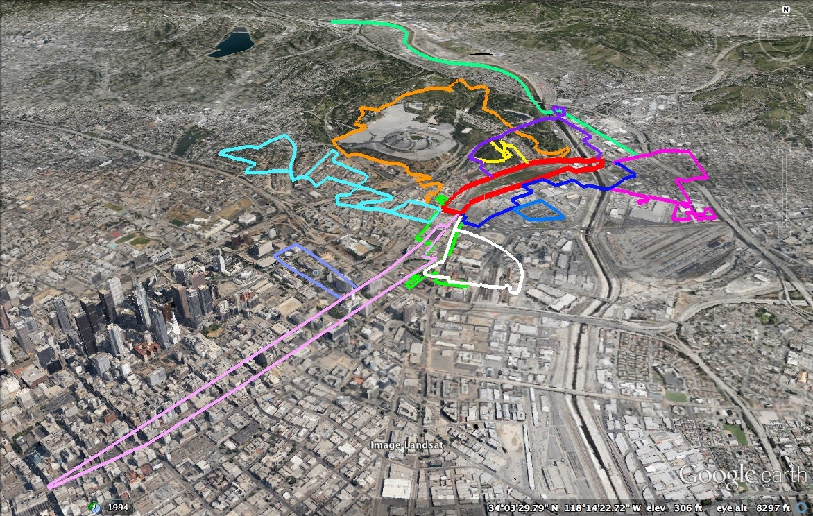 Los Angeles To Launch Nation's Largest Interactive Urban Trail Network