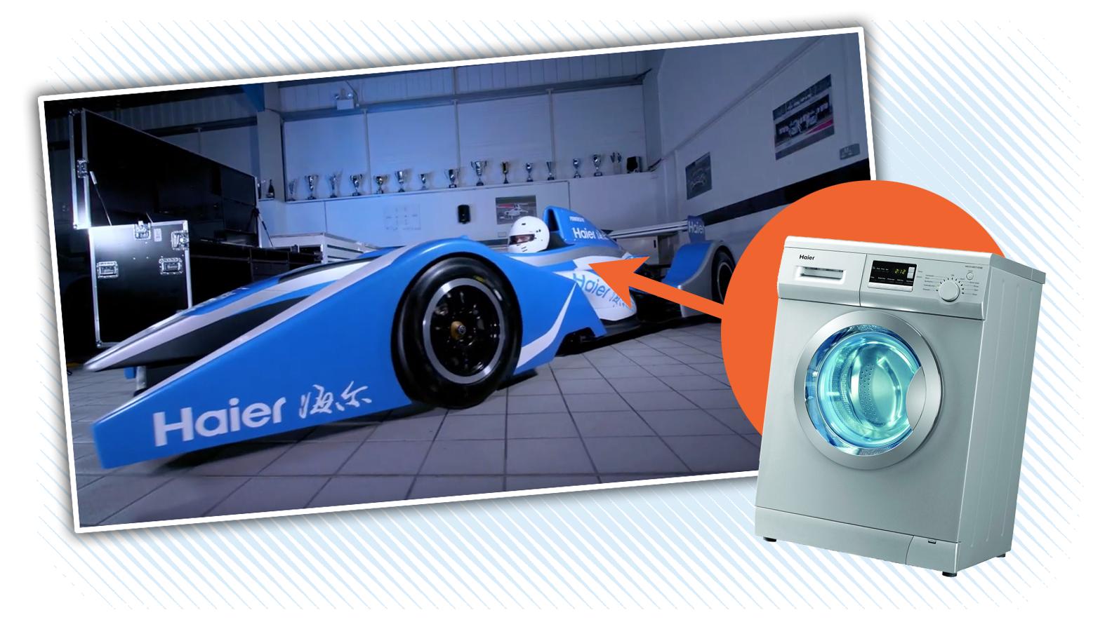 Global Racing Team Builds Formula Race Car With A Washing Machine Motor, Finally