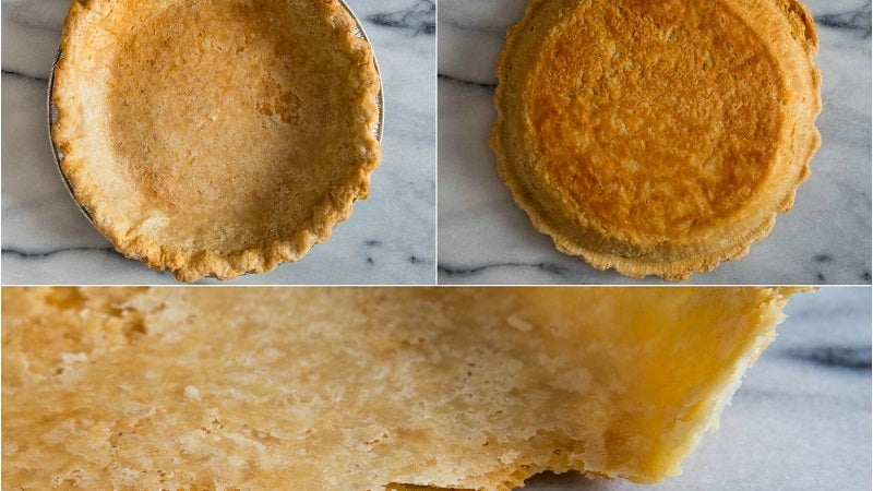 When It Comes To Pie Pans, Cheaper Is Better