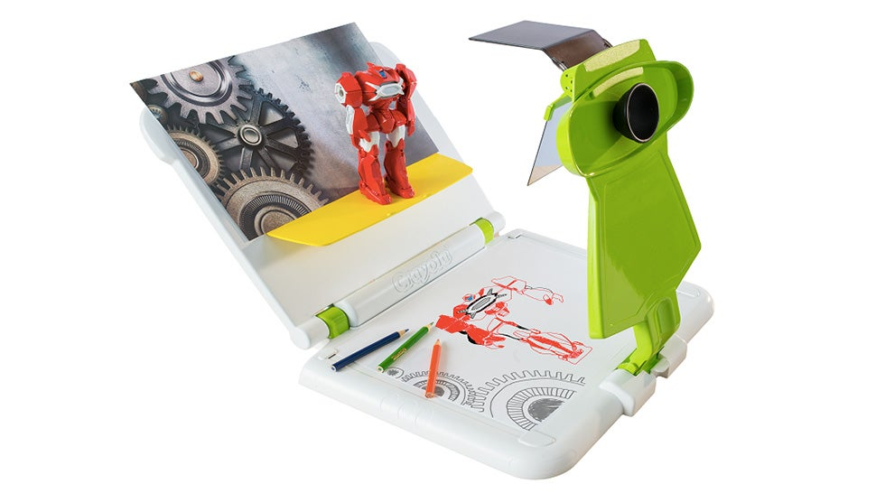 The Sketch Wizard Tracer Turns Anyone Into a Photocopier