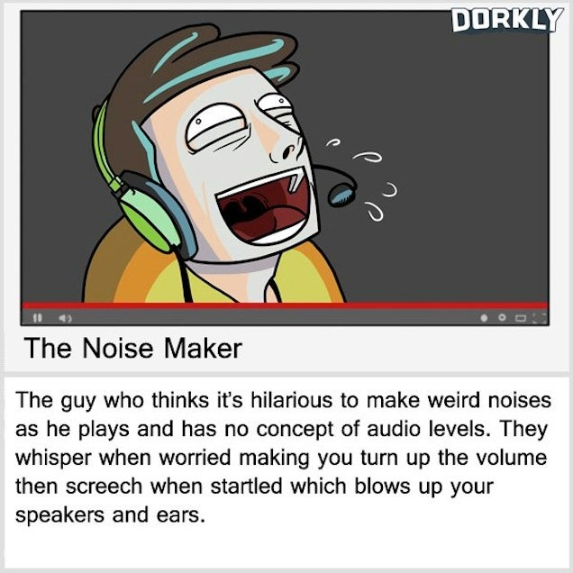 Come On, Stop with the Weird Noises in the Let's Play Videos, OK?