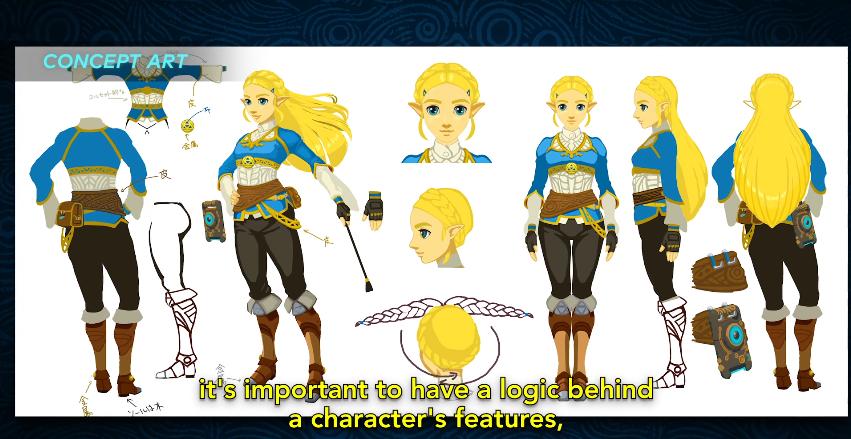 Character Design Challenge Zelda : At first nintendo couldn t agree on how to depict zelda