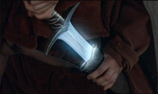 Hobbit Sword Glows When It Detects Wi-Fi