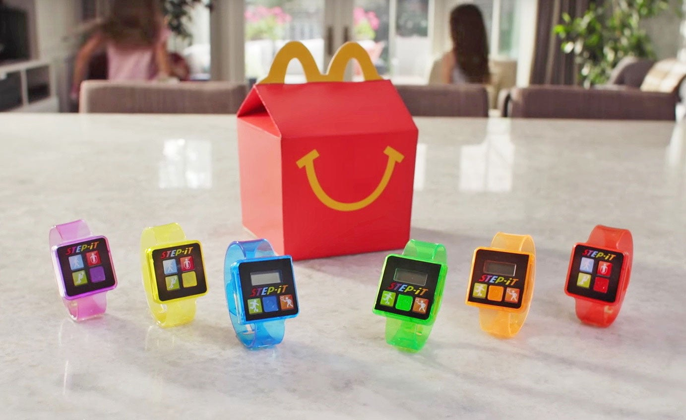 McDonald's Plan to Put Fitness Trackers in Happy Meals Is a Cruel Joke