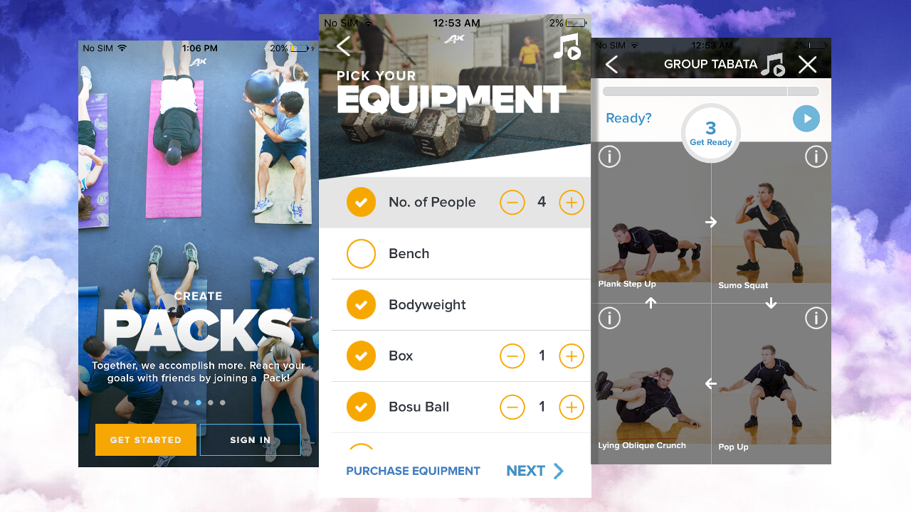 ACTIVEx Coordinates Your Group Workouts