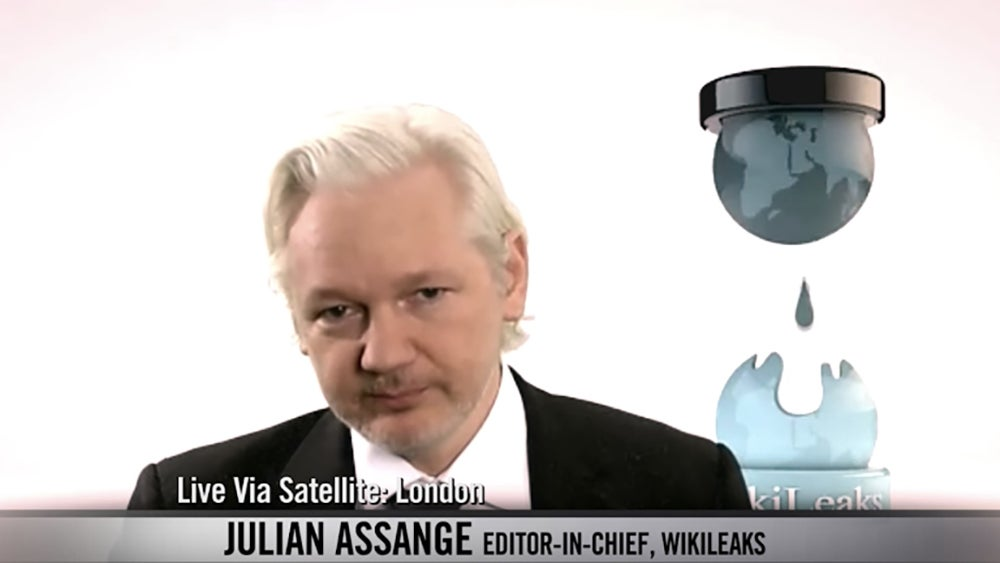 Julian Assange Lied About A WikiLeaks Data Dump On National Television