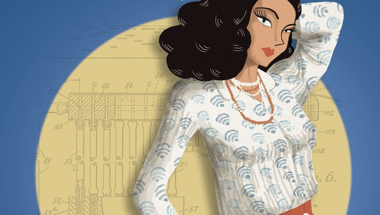 Celebrate Hedy Lamarr's Birthday With This Gorgeous Graphic Novelisation Of Her Life