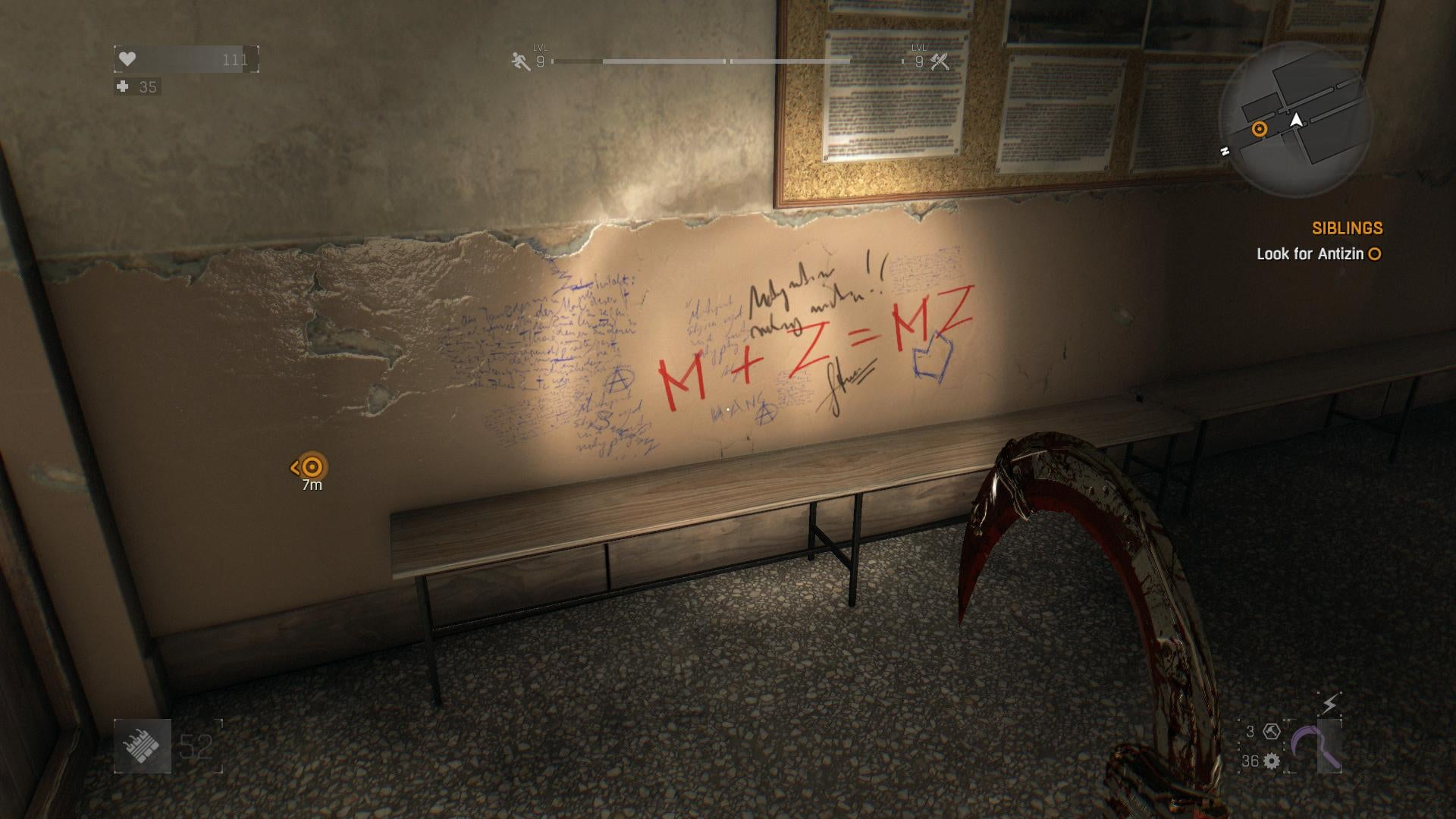 Good Job With The Graffiti, Dying Light