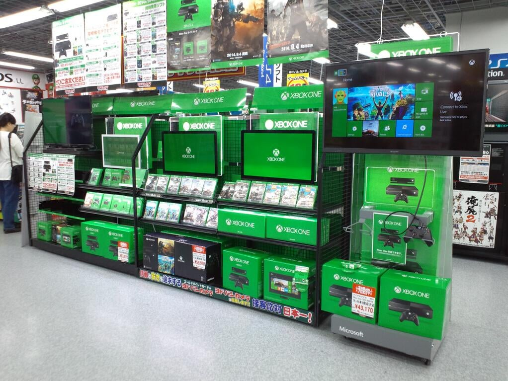 The Xbox One Is Doing Truly Awful in Japan