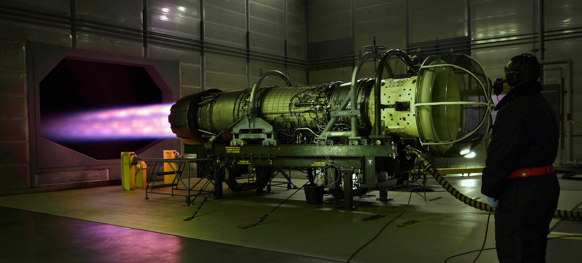 This Is What 13,154kg of Jet Engine Force Looks Like in Testing
