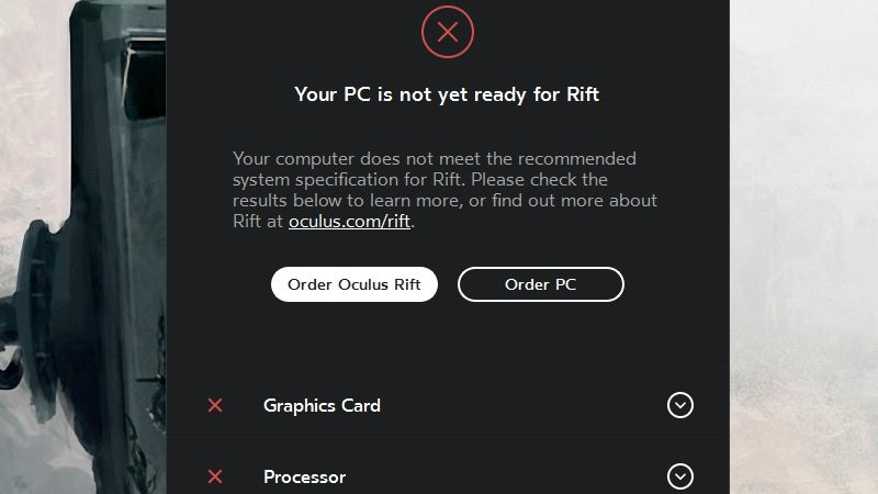 See If Your PC Is VR-Ready With the Oculus Rift Compatibility Tool