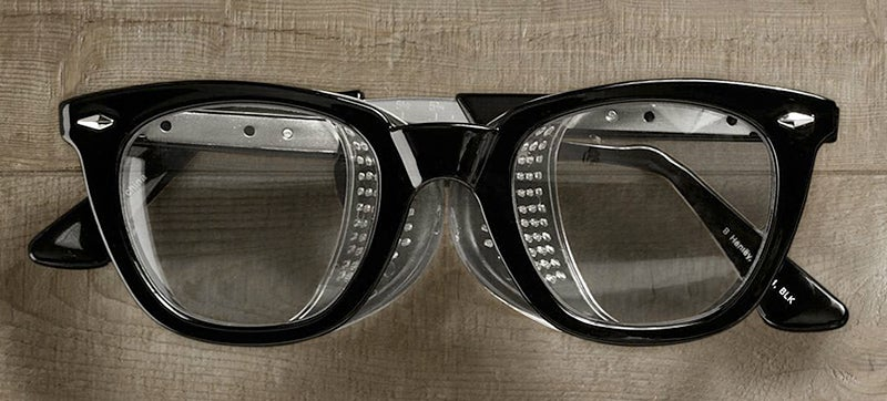 Retro Safety Glasses For Style-Conscious Carpenters