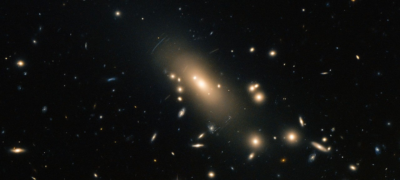 Hubble's Latest Images Reveal a Rich Seam of Galaxies