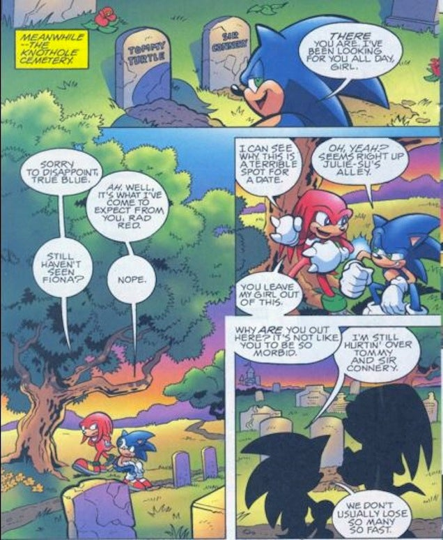 Sonic, Then and Now