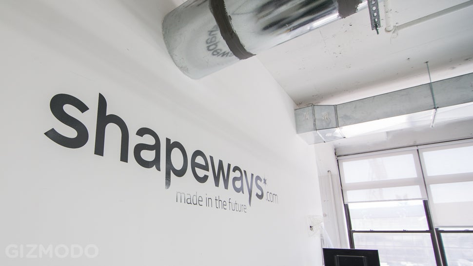 Inside Shapeways, the 3D-Printing Factory of the Future