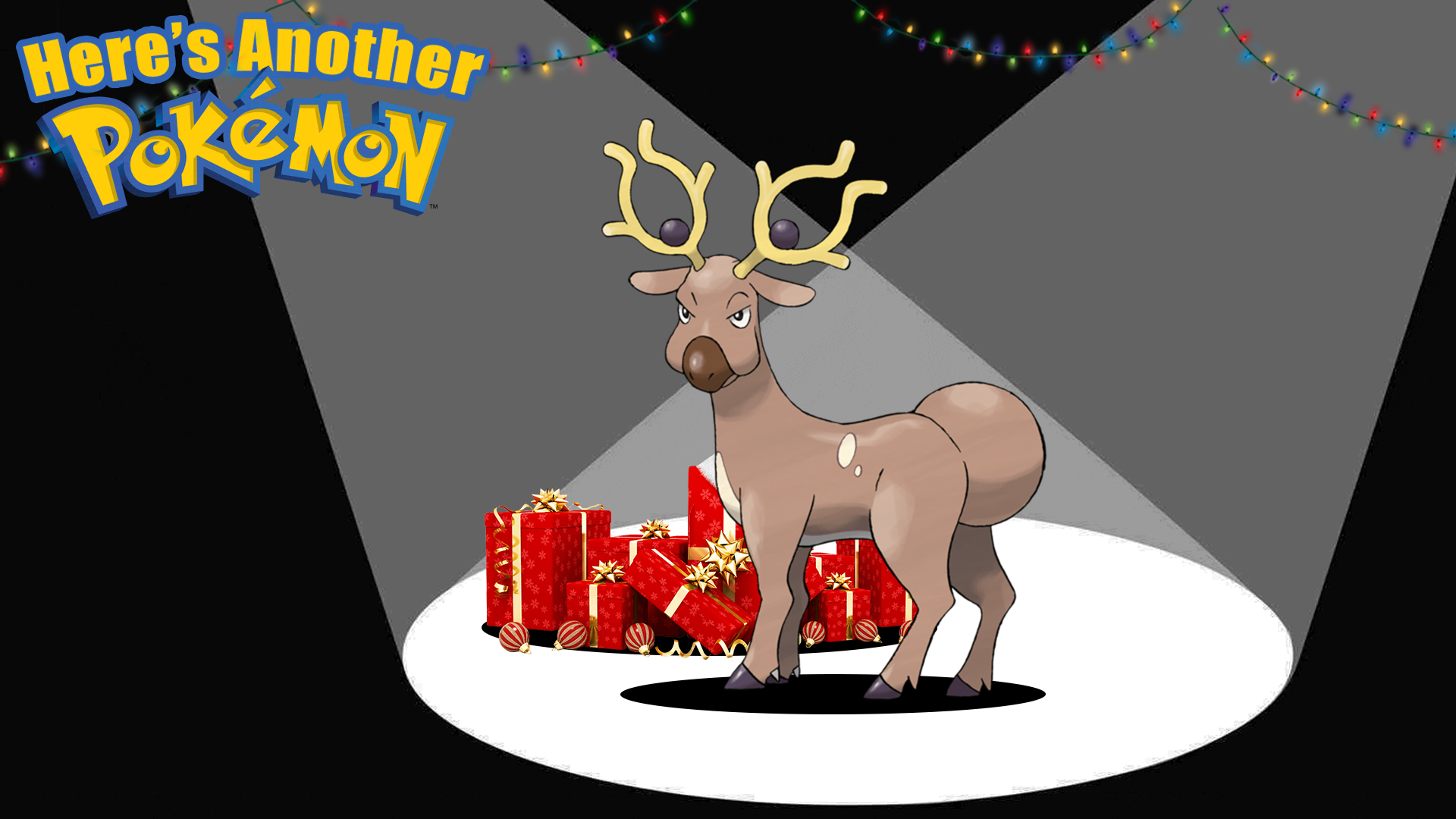 Stantler Pulls Santa's Sleigh And Has Magical Antlers That Warp Reality