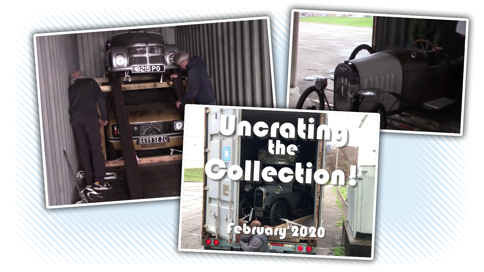 The Lane Motor Museum Is Now Making Un-Crating Videos