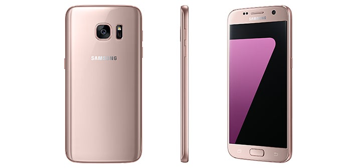 Samsung Is Trying Really Hard Not to Call These Phones 'Rose Gold'