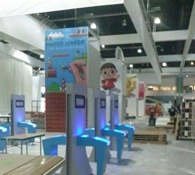 Alleged 'Mario Maker' E3 Photo Pops Up