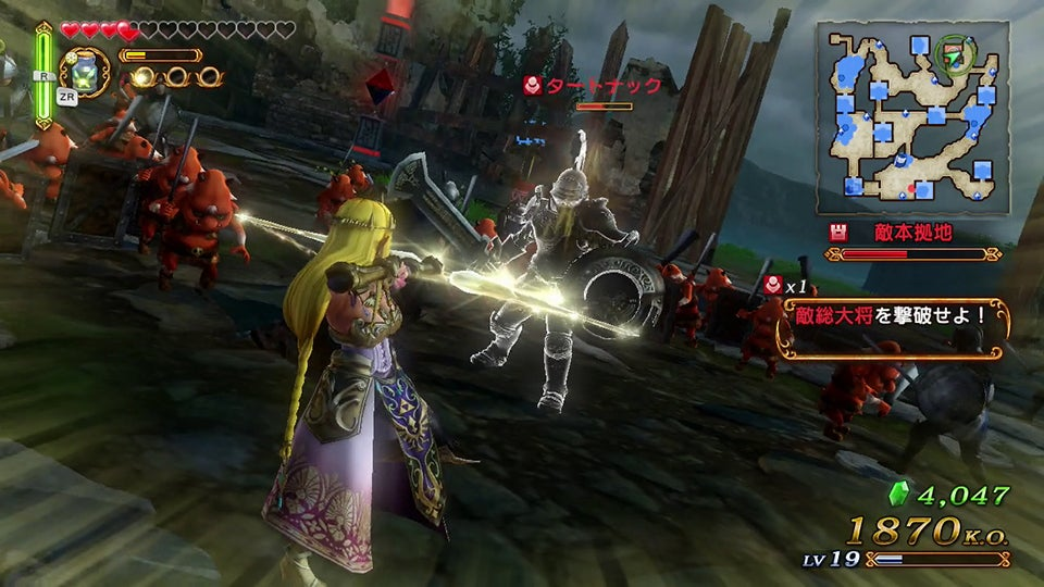 Hyrule Warriors is Far More Dynasty Warriors than Zelda