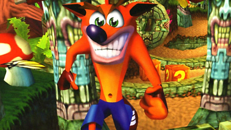 Crash Bandicoot, My Love, Come Back to Me
