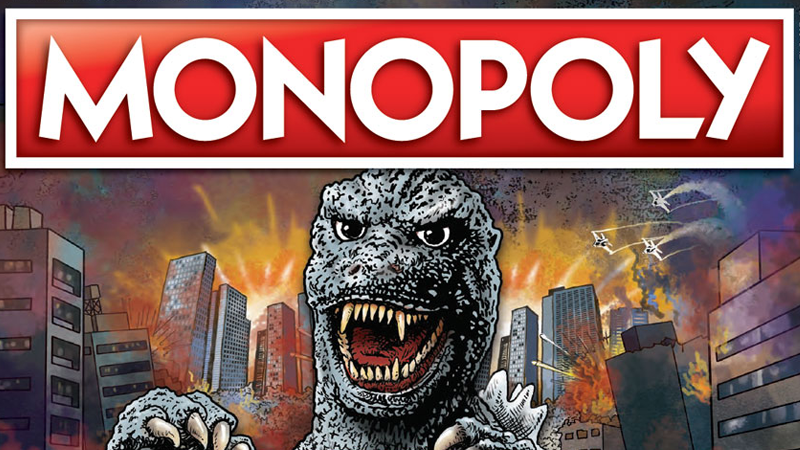 Hasbro And Parker Brothers' Godzilla Monopoly And Jenga Are Real