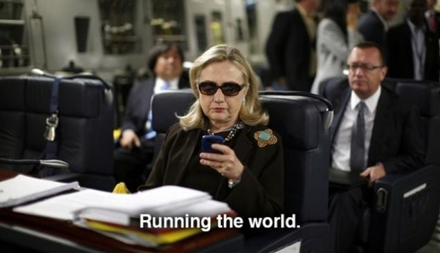 How The 'Texts From Hillary' Photo Sparked An Inquiry Into Clinton's Emails