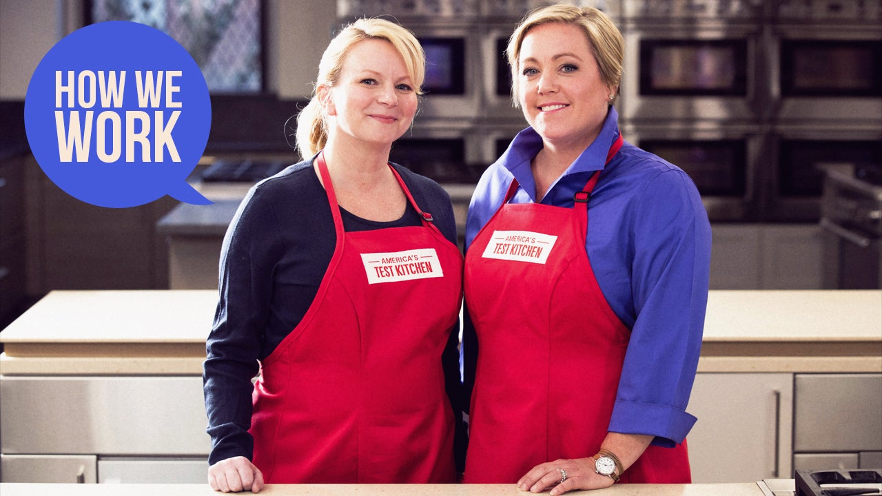 We Are Julia Collin Davison And Bridget Lancaster, Hosts Of America's Test Kitchen, And This Is How We Work
