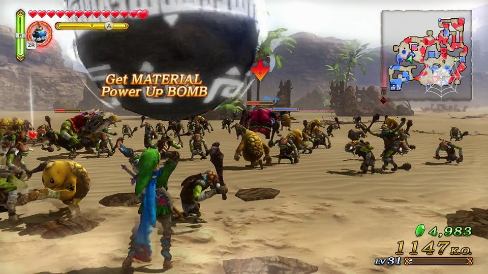 Hyrule Warriors is Far More Dynasty Warriors than Zelda