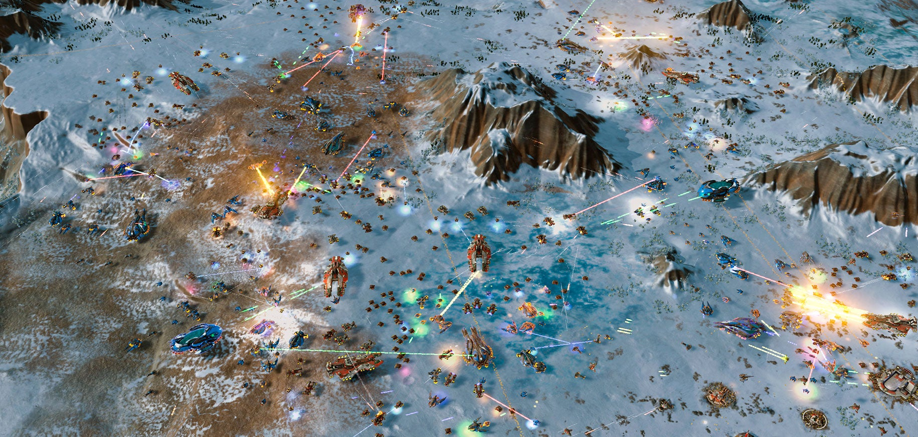 Ashes Of The Singularity Is A Very Old-Timey RTS
