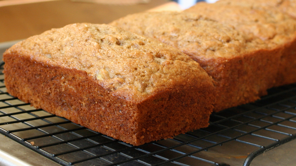 Bake Healthier Banana Bread by Adding Avocado