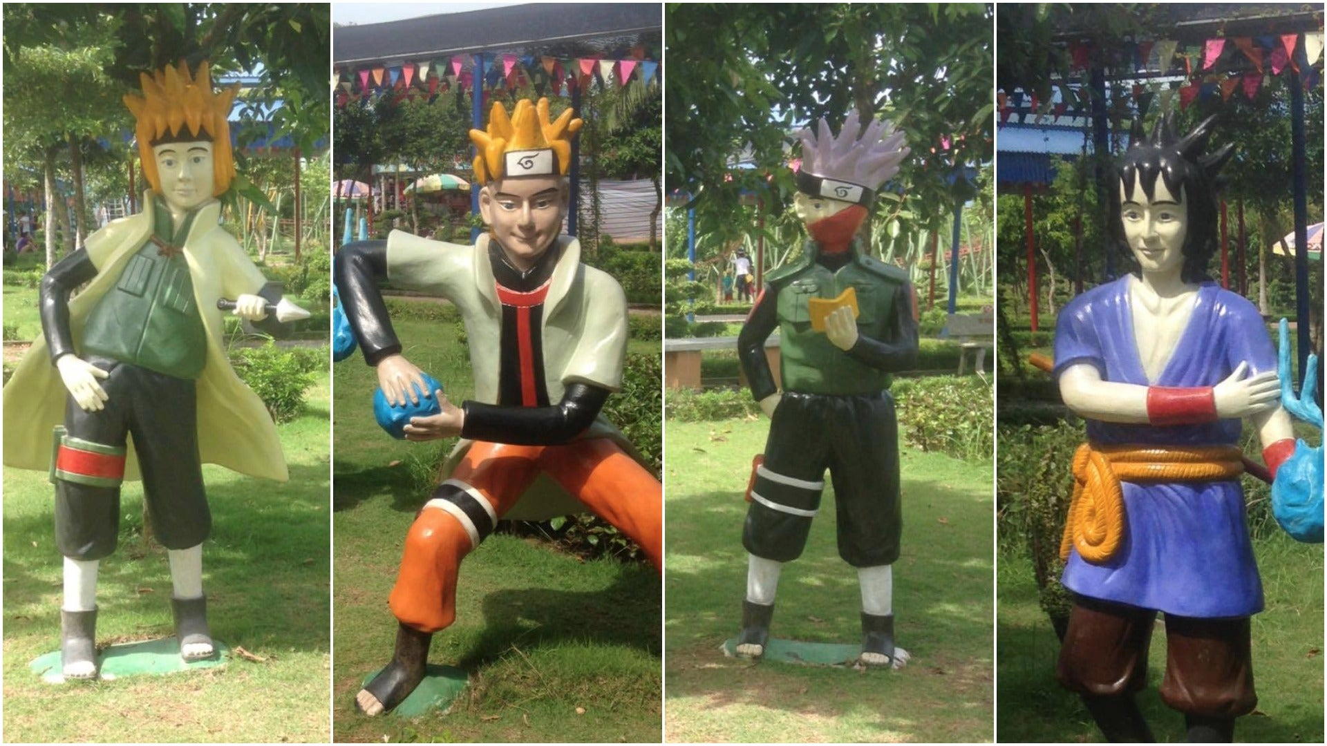 For Naruto Knock-Offs, These Statues Are Very Bad