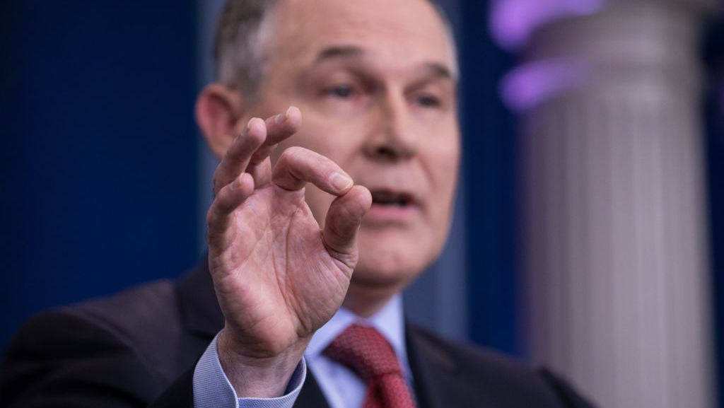 EPA Head Scott Pruitt Wants Some Kind Of Strange Climate Change Showdown