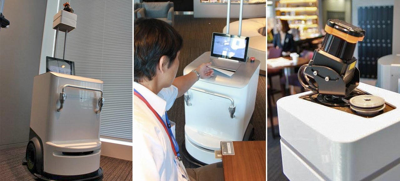 Xerox's Robot Printer Brings Your Documents Right To You