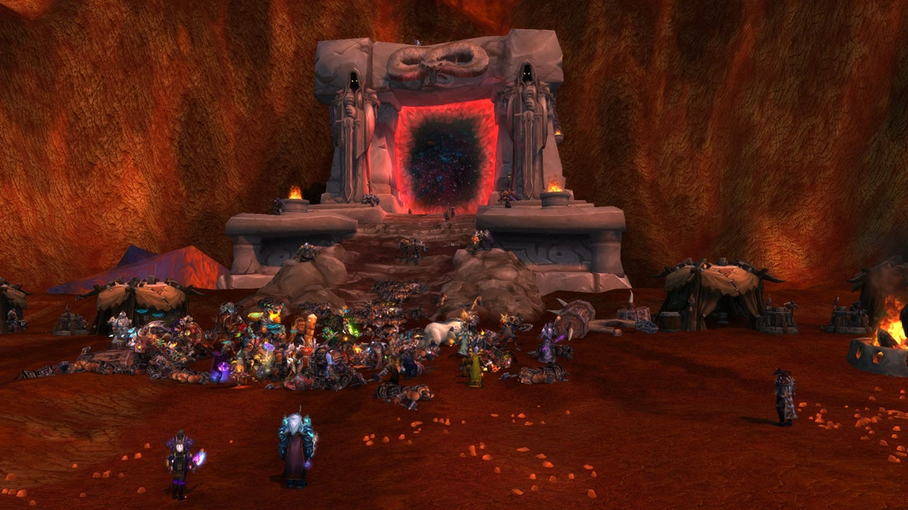 Poised At The Dark Portal, Awaiting Warlords Of Draenor