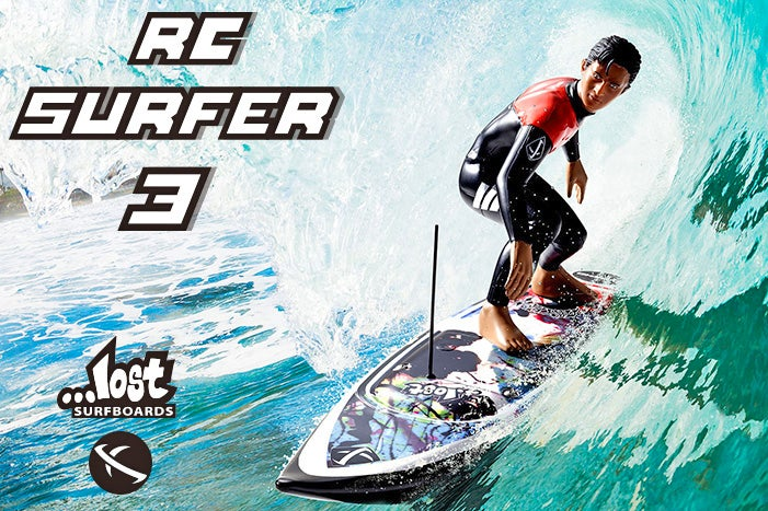 Every Wave's a Towering Wall of Water For This Foot-Tall RC Surfer