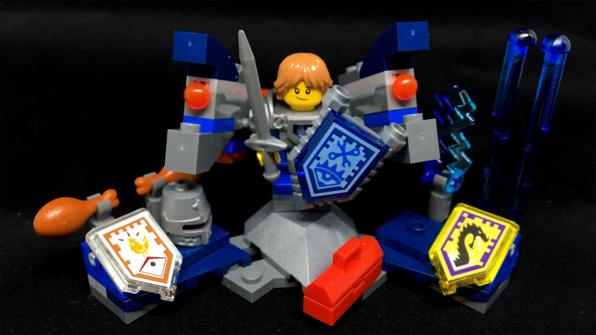High-Tech Knights Are LEGO's Best New Idea In Ages