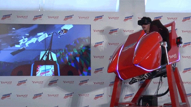 Virtual Reality Roller Coaster Lets You Ride the Internet