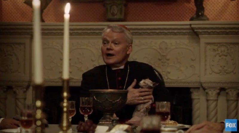 The Exorcist Takes A Page From Game Of Thrones In This Gruesome Dinner Party Scene