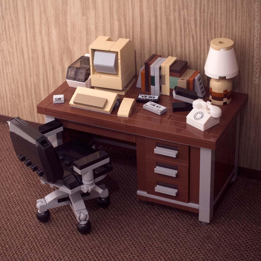 Retro LEGO Desktop Really Takes Me Back