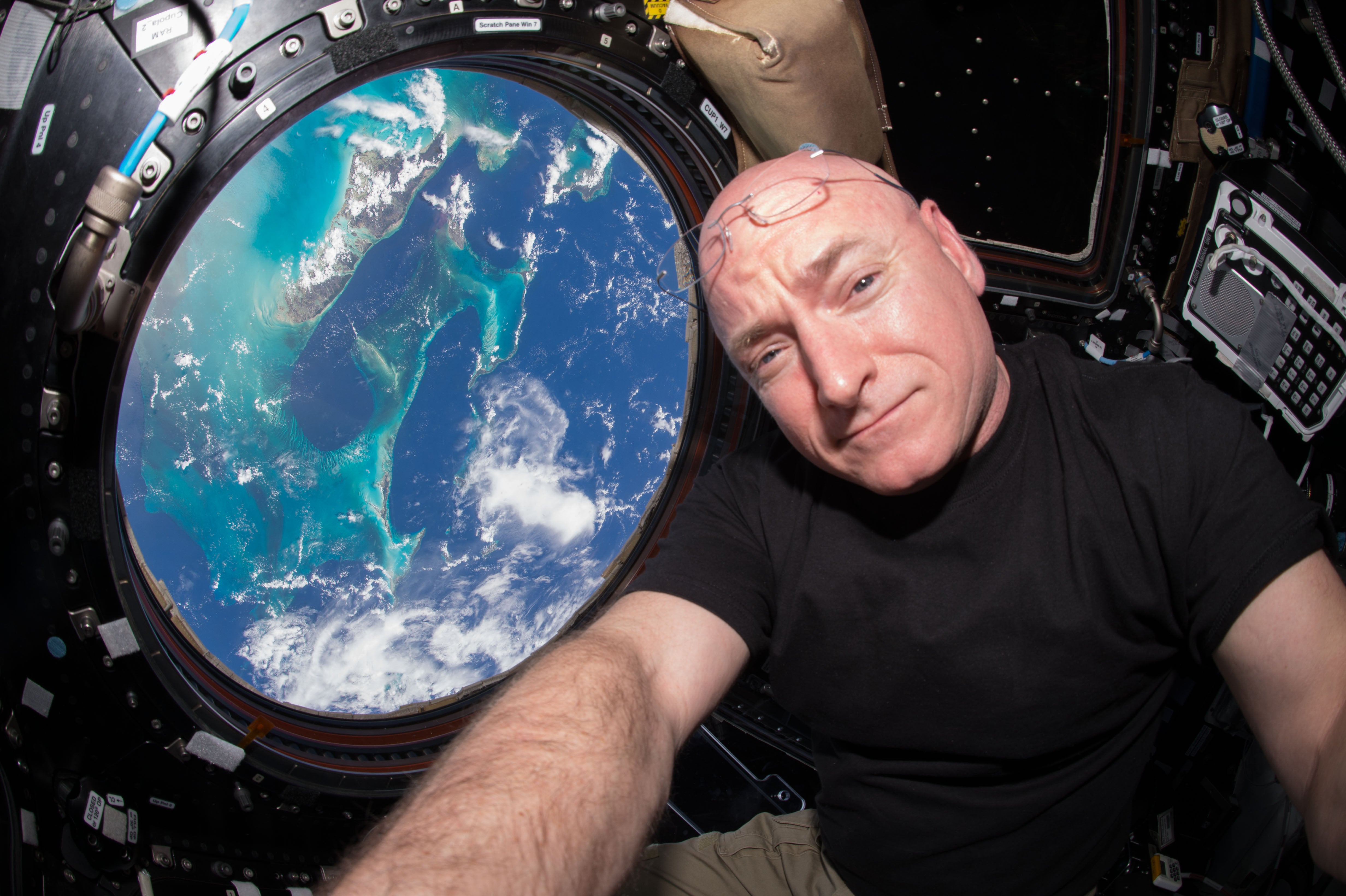 Having Set the Record for Most Time in Space, Scott Kelly Is Leaving NASA