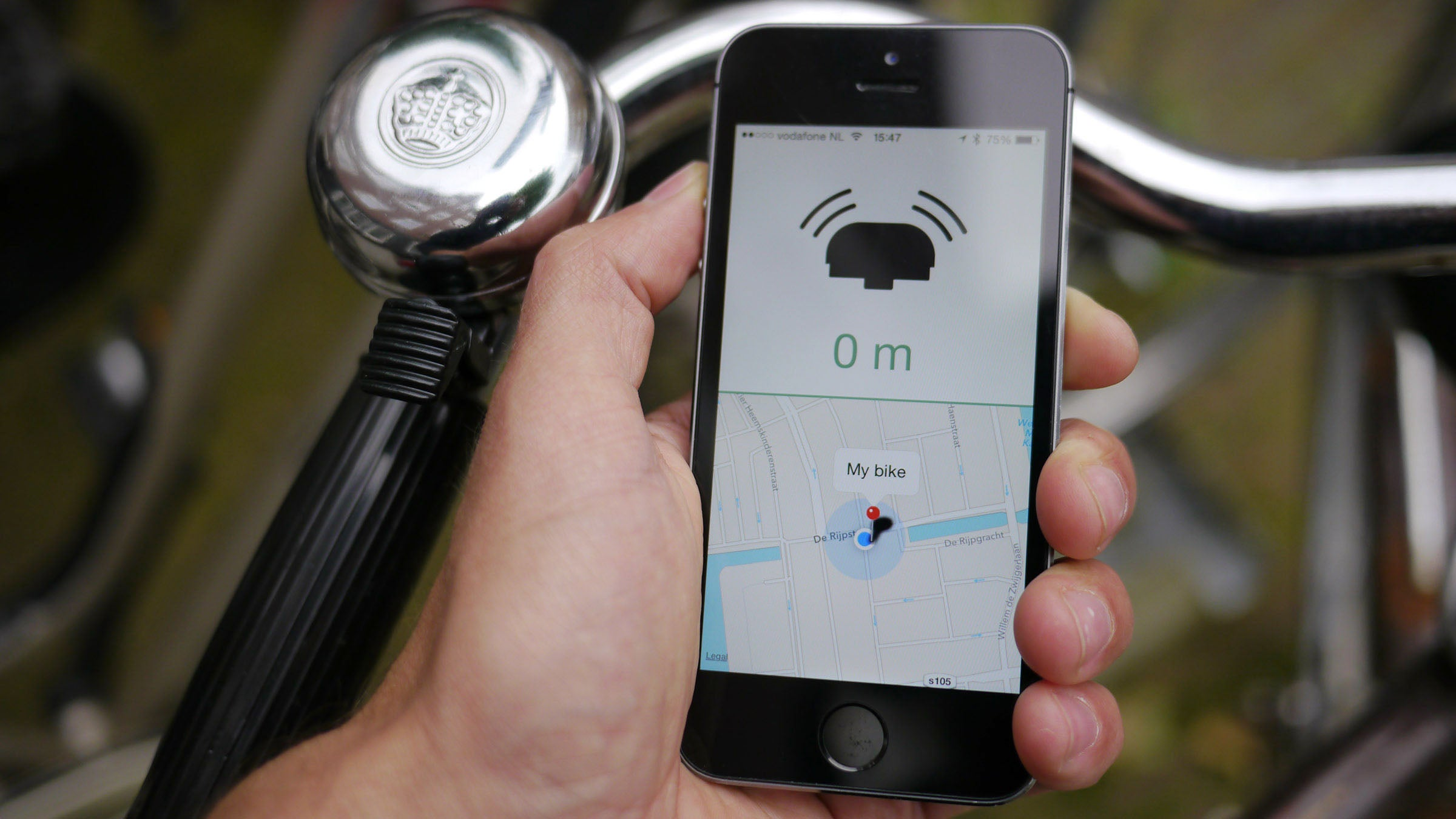 This GPS-Enabled Bike Bell Rings To Help You Find Your Ride