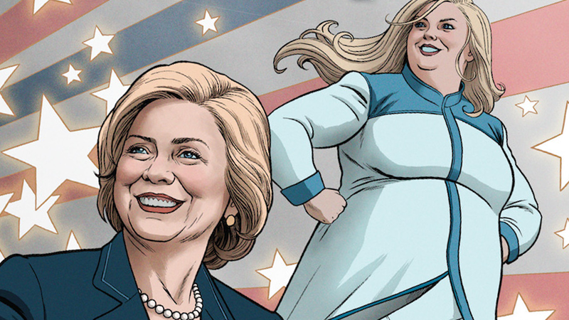 Hillary Clinton Is Heading To The Valiant Comic Universe