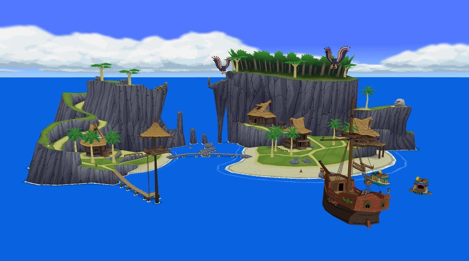 Wait, There's A Wind Waker Village In Breath Of The Wild?