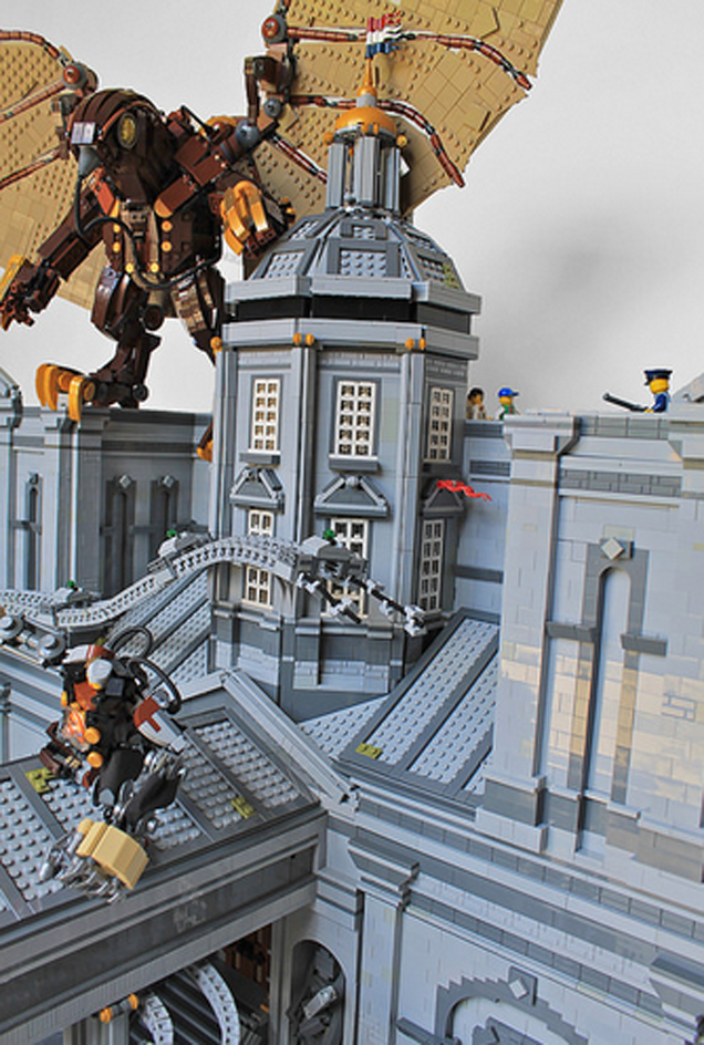 LEGO Bioshock Infinite Diorama Is Simply Massive