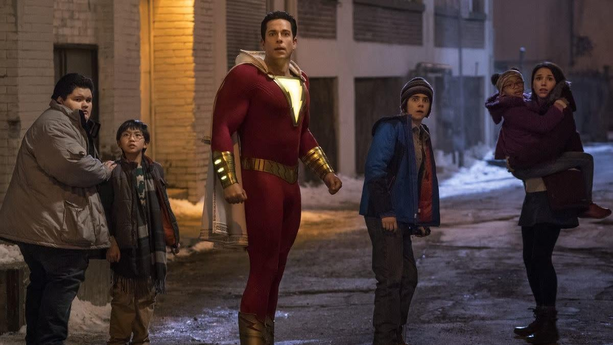 A Deleted Shazam Scene Could Be Teasing The Arrival Of Black Adam