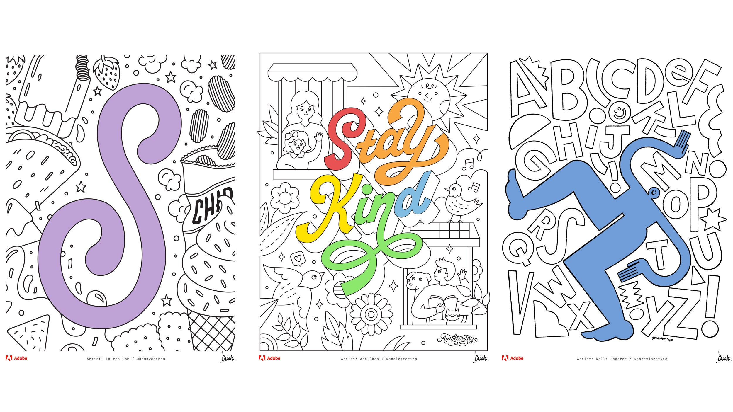 Adobe Releases A Free Colouring Book So You Can Colour Through It