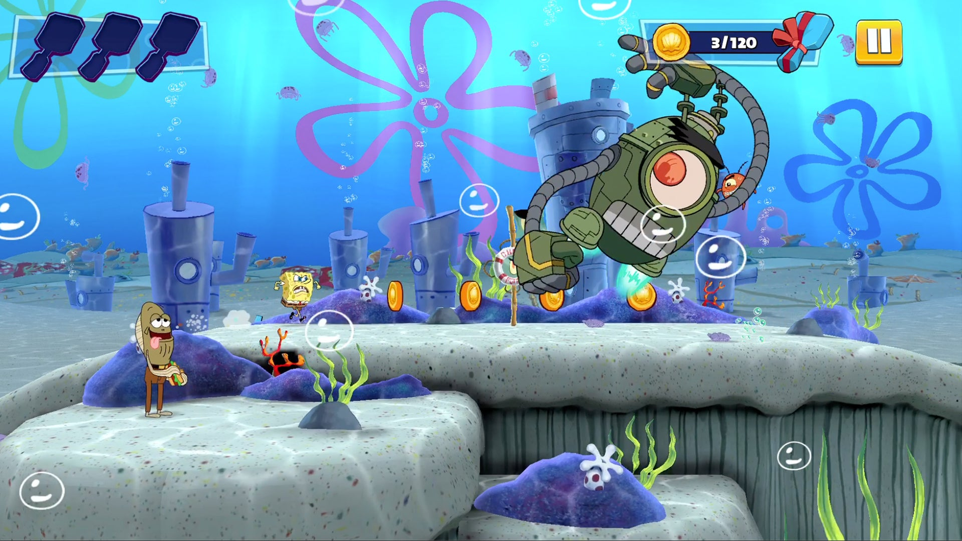 Aww, Apple Arcade's Got A Spongebob Game Now